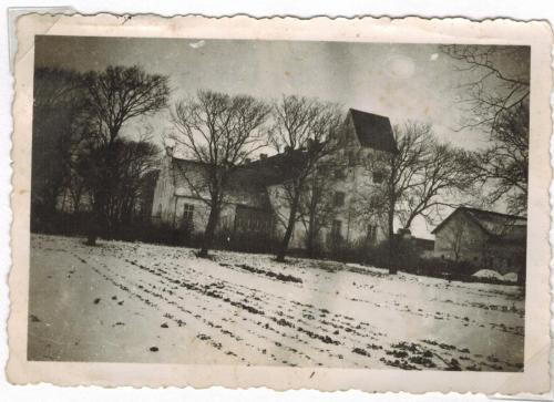 Vrejlev Kloster besøg januar søndag 1944 Gunnar Mølgaard elev højskole 2