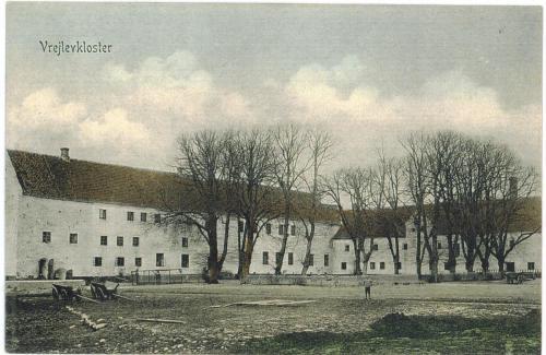 Vrejlev Kloster fr brand